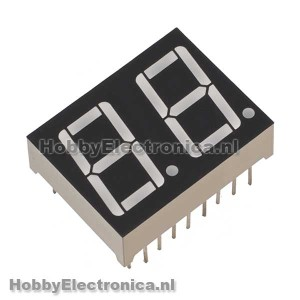 7 led 2 digit common anode