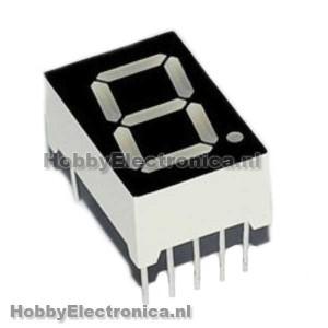 7 segments led display