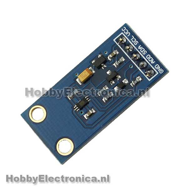 BH1750FVI digitale lichtintensiteit