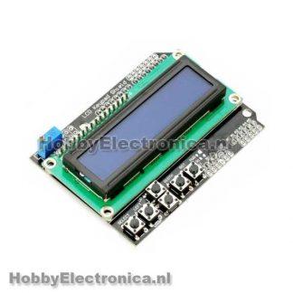 I2C lcd interface voor 16x2 en 20x4 displays