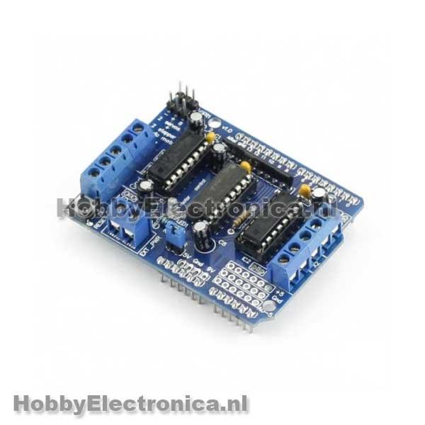 L d motor shield arduino uno en mega compatible