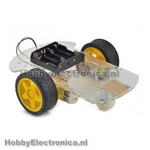 Smart car robot chassis 2WD platform