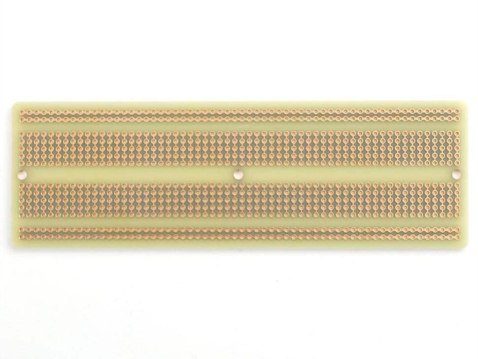 Adafruit Perma-Proto Full-sized Breadboard PCB back