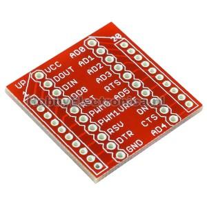 Breakout Board voor XBee Module
