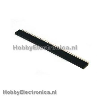 Pin header female 40 pin