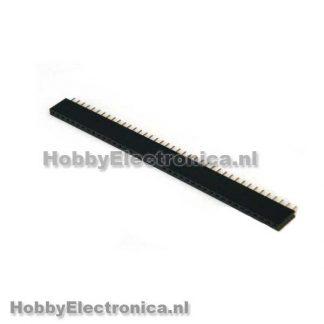 Pin header female 40 pin