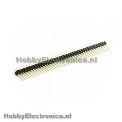 Pin header male 40 pin