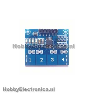 TTP224 capacitive touch
