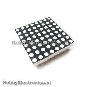 8x8 RGB matrix LED