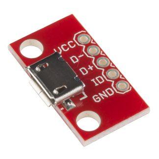 USB microB breakout board