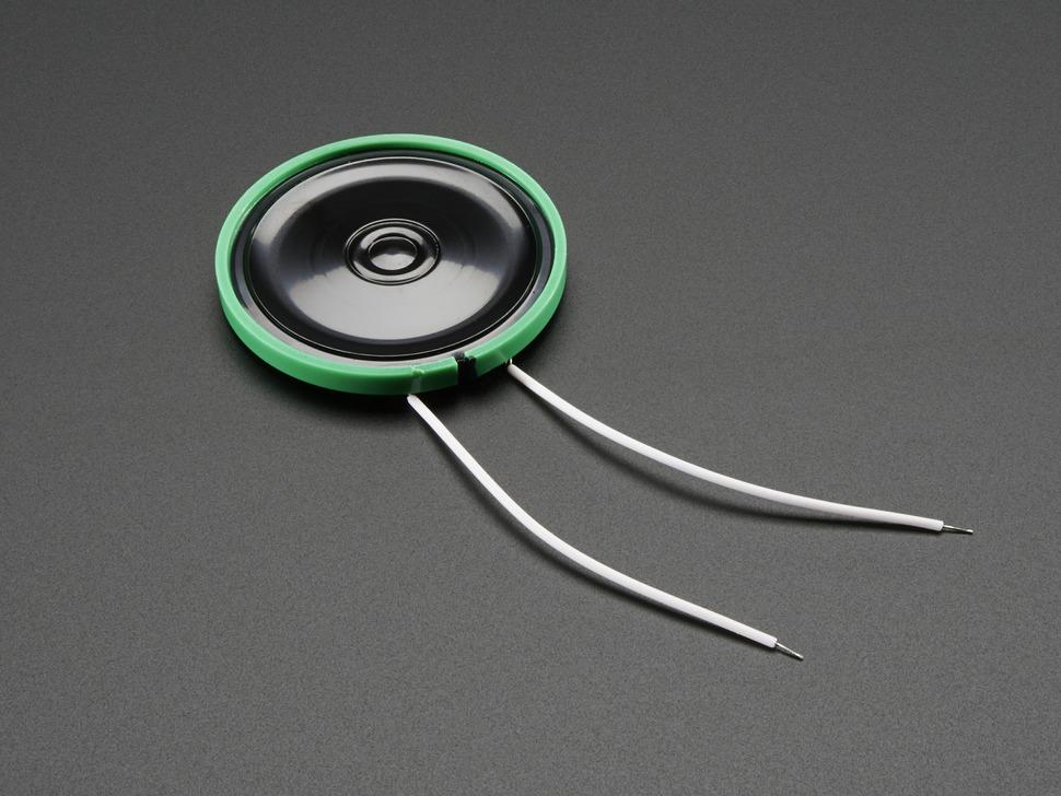 Mini plastic speaker 8 ohm