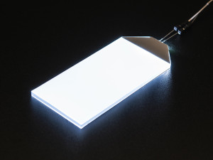 Witte LED Backlight module groot 45mm x 86mm