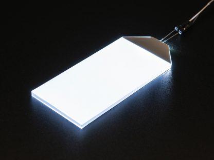 Witte LED Backlight module groot 45mm x 86mm