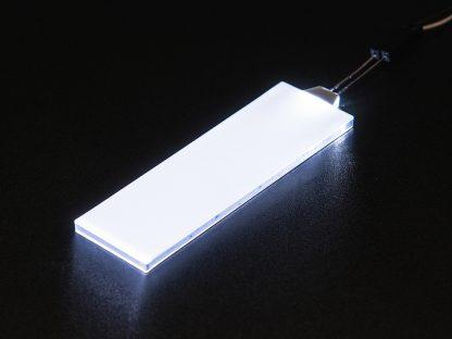 Witte LED Backlight module medium 23mm x 75mm