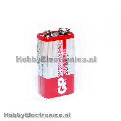 Batterij 9V 6F22