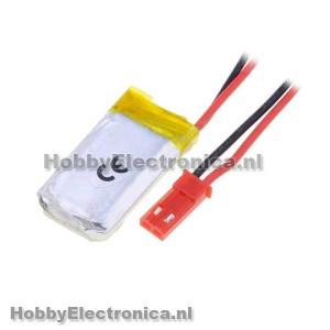Li-Po batterij 250mAh 3.7V