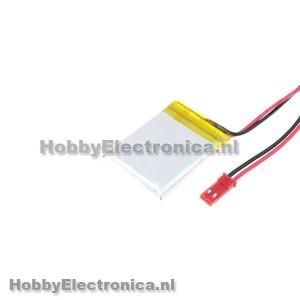 Li-Po batterij 550mAh 3.7V