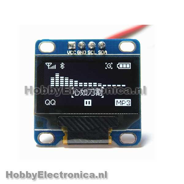 128X64 OLED wit i2c