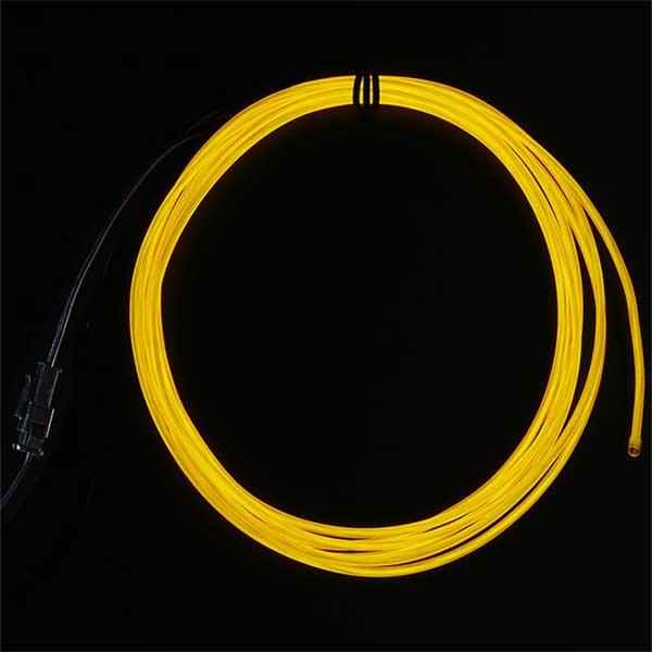 EL wire starter pack geel