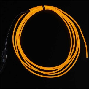 EL wire starter pack oranje