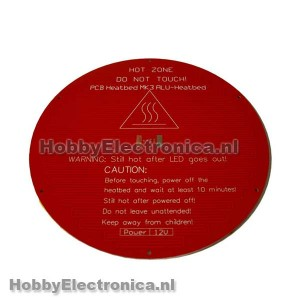 MK3 PCB Heatbed rond