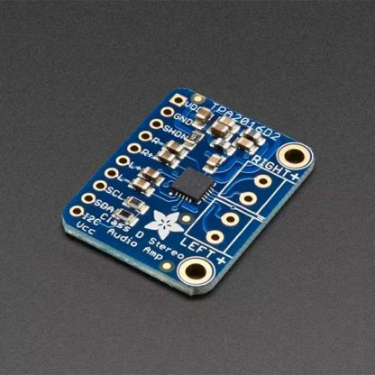 Stereo 2.8W Class D Audio Amplifier TPA2016