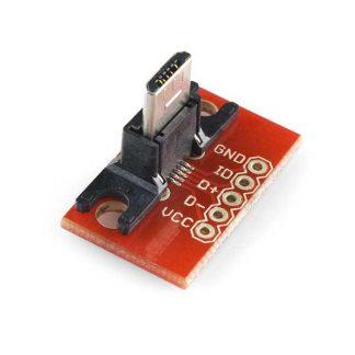 USB MicroB Plug Breakout
