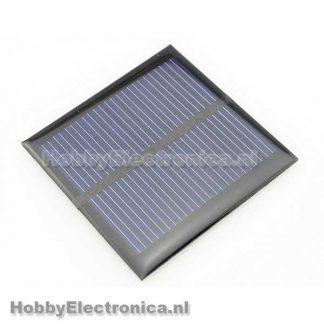Zonnepaneel 0.6W 5.5V