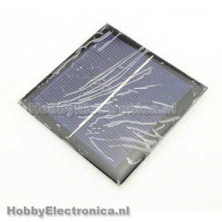 Zonnepaneel 1W 5.5V