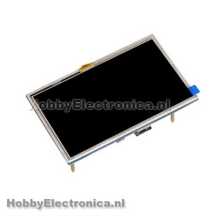 HDMI 5 Inch 800x480 touch TFT Raspberry