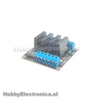 4 kanaals 5V DC Solid State relais Omron