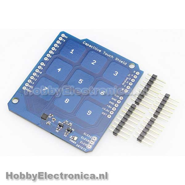 Capacitive Touch Shield 9 buttons