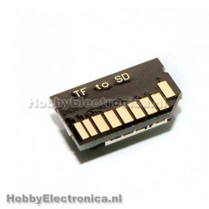 TF naar micro SD Adapter
