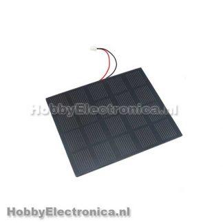 5V 400mA Monokristallijn PET zonnepaneel