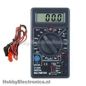 DT830B Mini Digital Multimeter