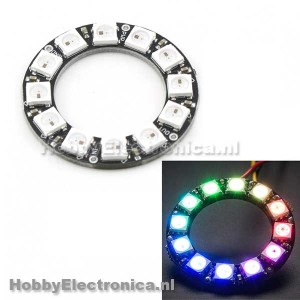 WS2812 5050 RGB LED Ring 12