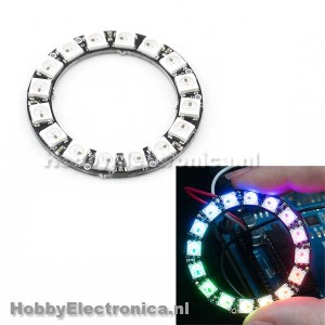 WS2812 5050 RGB LED Ring 16