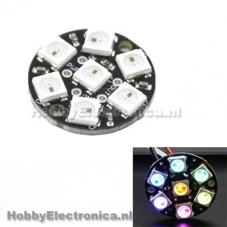 WS2812 5050 RGB LED Ring 7
