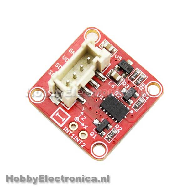 Crowtail 3-Axis Digital Accelerometer