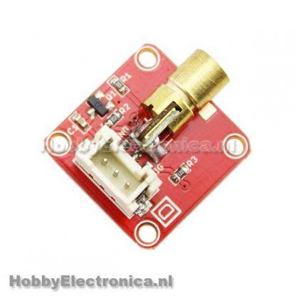 Crowtail laser sensor