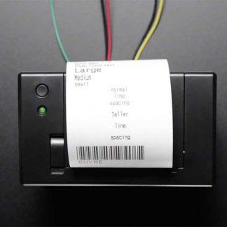 Mini thermal bon printer