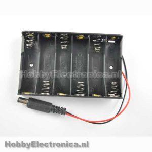 Batterij houder 6 x AA