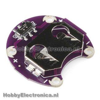 LilyPad CR2032 batterij houder