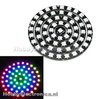WS2812 5050 RGB LED Ring 61