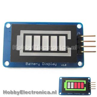 LED bar batterij
