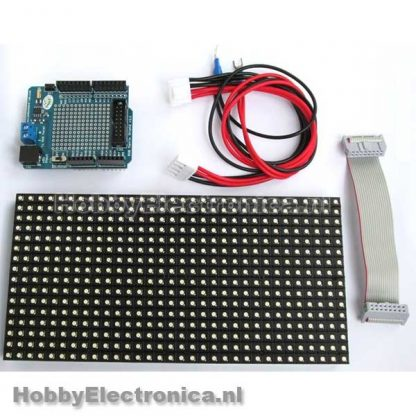 16x32 RGB LED matrix