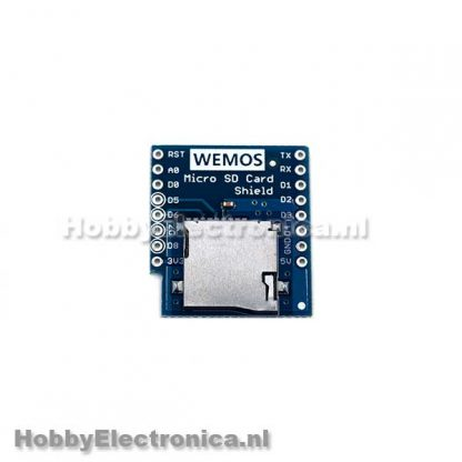 Micro SD Wemos shield