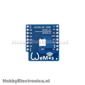 WS2812B RGB  Wemos shield