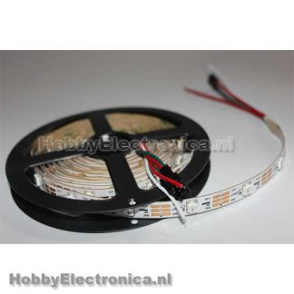 LED strip WS2812B RGB plakstrip