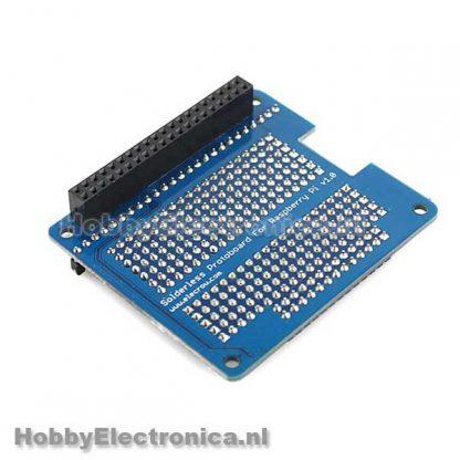 Solderless Protoboard RPi